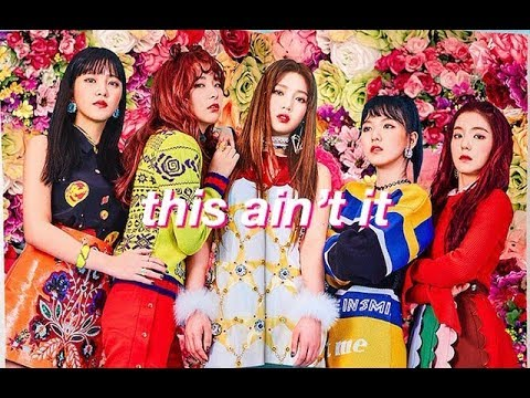 red velvet need a new stylist