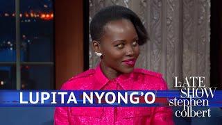 Lupita Nyong'o Has Eyes For Stephen