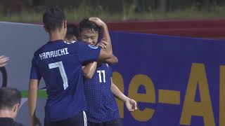 Japan 5-2 Thailand (AFC U16 Malaysia 2018 : Group Stage)