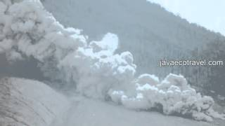Sinabung Lava Dome Collapse and Pyroclastic Flow 2016