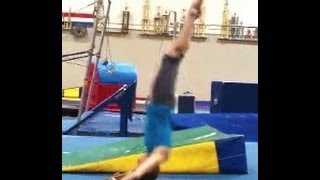 Back Extension Rolls (Bent And Straight Arm) With Coach Meggin (Professional Gymnastics Coach)