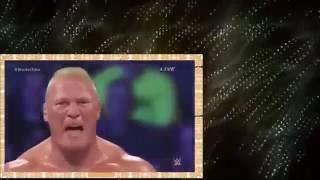 The Undertaker vs Brock lesnar vs Sting  - WWE Summerslam 2015 (Full Match)  720p HD