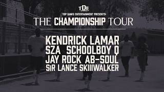 TDE Presents The Championship Tour 2018
