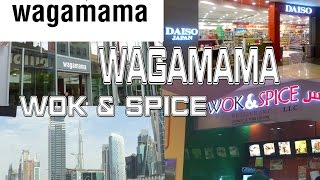 Lunchout at Wok & Spice Oasis Centre and Wagamama Cardiff Branch (28-JAN-2016)