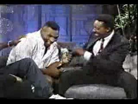 Muhammad Ali and Mike Tyson on same talk show P1 rare