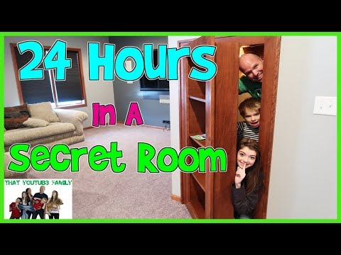 Xxx Mp4 24 Hours In A Secret Room That YouTub3 Family 3gp Sex