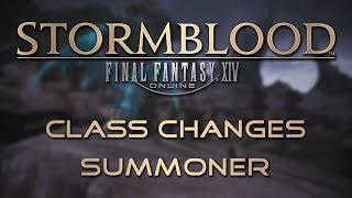 Stormblood Class Changes: Summoner