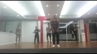 """Bebot"" (Black Eyed Peas) Hip Hop Dance Practice by 3J Fitness Crews"