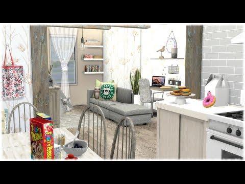Xxx Mp4 The Sims 4 Speed Build TINY FAMILY APARTMENT CC LINKS 3gp Sex