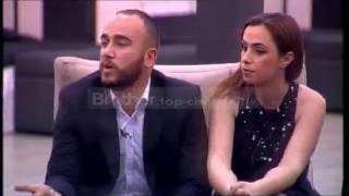 Sherri në spektakël  Marjus-Enida vs Olsi-Fiorentina - Big Brother Albania 9