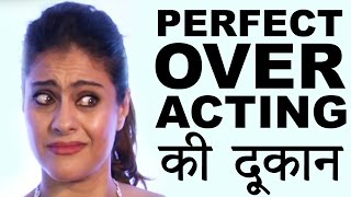 Watch Kajol's OVER ACTING at RED CARPET of Filmfare Glamour & Style Awards