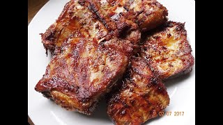 Cơm Sườn - Bí quyết ướp Sườn nướng Cơm Tấm - Gia vị ướp sườn ngon nhất by Vanh Khuyen