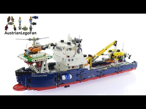Lego Technic 42064 Ocean Explorer Lego Speed Build Review