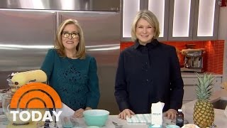 Martha Stewart Makes Pineapple Upside-Down Cake, Chocolate Pie | TODAY