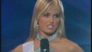 Miss Teen South Carolina - It's like, you know..