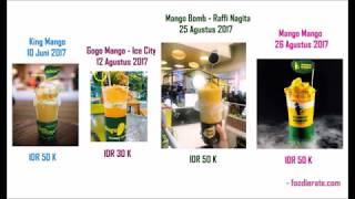 Serupa Tapi Tak Sama? Berburu Minuman Kekinian Hits 2017: King Mango Thai atau Kembarannya?