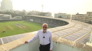 Mr. Rakesh Kapoor Of CCI Speaks About The World's Largest Solar-powered Cricket Stadium At The #CCI.