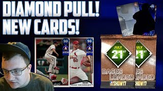 *New* Bases Loaded Pack Opening! [Diamond Pull] New Cards and Roster Update MLB The Show 17