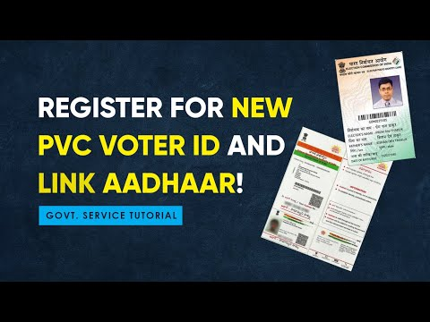 How To Register Online For New Colour PVC Voter ID Card And Link Aadhaar Samaa News