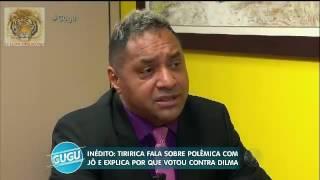 Tiririca explica polémica com Jô Soares- Programa do Gugu 22/06/16