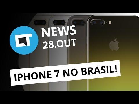 Lançamento do iPhone 7 no Brasil, iPhone vs Pixel, Pornhub quer Vine e + [CTNews]