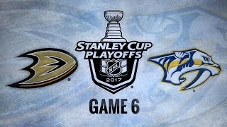 Sissons propels Preds to first Cup Final in 6-3 win