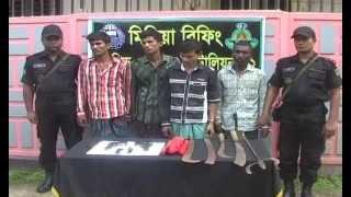 Tangail RAB Arrest Footage 10 05 15