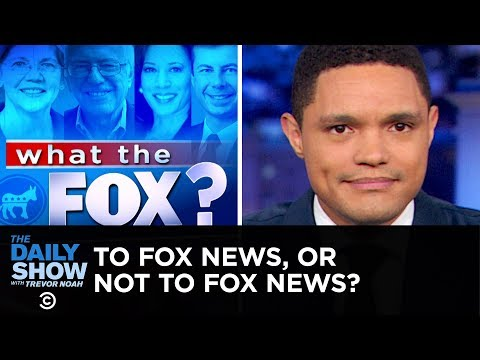 Xxx Mp4 Dems Divided Over Appearing On Fox News The Daily Show 3gp Sex