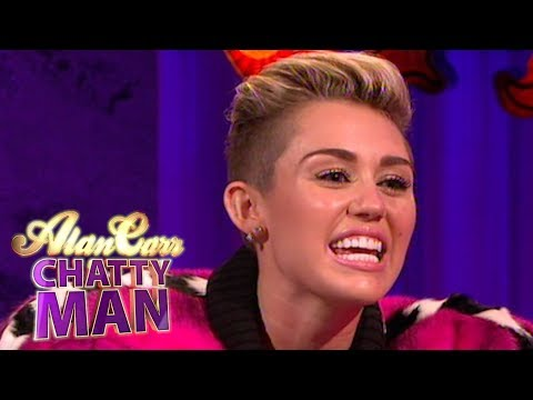 Xxx Mp4 Miley Cyrus Talks About Twerking At The VMA 39 S Full Interview Alan Carr Chatty Man 3gp Sex
