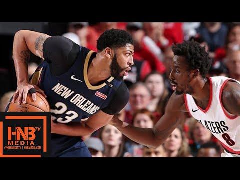 Xxx Mp4 New Orleans Pelicans Vs Portland Trail Blazers Full Game Highlights Game 2 2018 NBA Playoffs 3gp Sex