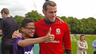 ARE YOU ACTUALLY GARETH BALE? Check out what happens when Wales are training!