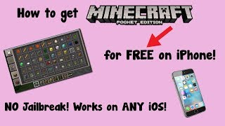 HOW TO GET MINECRAFT PE ON YOUR PHONE FOR FREE! [NO JAILBREAK] [WORKING APRIL 2018]