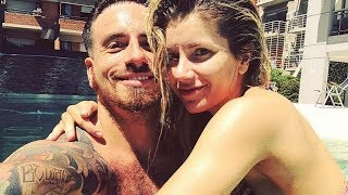 Fede Bal y Laurita Fernández hot en microbikini en la pileta