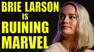Brie Larson is Ruining Marvel!