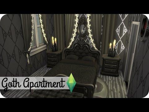 Xxx Mp4 Sims 4 Speed Build Goth Apartment 3gp Sex