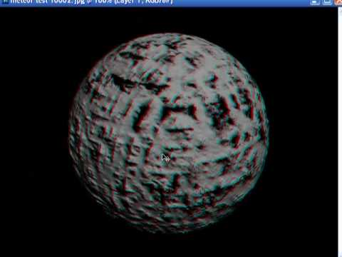 How to make 3d anaglyph pictures using photoshop
