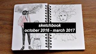 sketchbook tour // oct. 2016 - mar. 2017