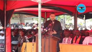 Bishop Dag Heward Mills' sermon at Major Mahama's burial