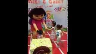 Kiddy Zone Qatar  Meet & Greet Dora