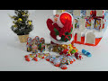 킨더조이 크리스마스 강림절 달력 서프라이즈 에그 알까기 놀이 3탄 [대문밖장난감]