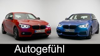 BMW 1 Series Facelift 1er Preview revised Interior & Shadow Line Exterior