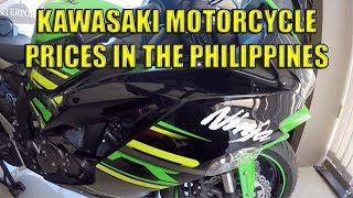 Kawasaki Motorcycle Prices In The Philippines.