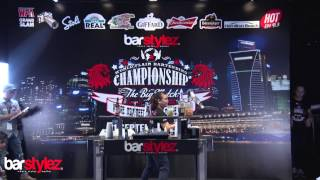 """Tracy Marie Mabel (Philippines) - Barstylez """"The Big Match"""" 2014 FA Grand Slam Qualifying Rounds"""