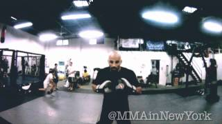 Feel the Power of UFC fighter Costas Philippou (Go Pro Cam)