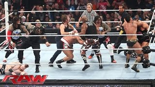 16-Man Elimination Fatal 4-Way Elimination Tag Team Match: Raw, December 7, 2015