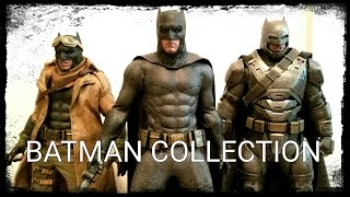 Hot Toys Dawn Of Justice Batman Collection