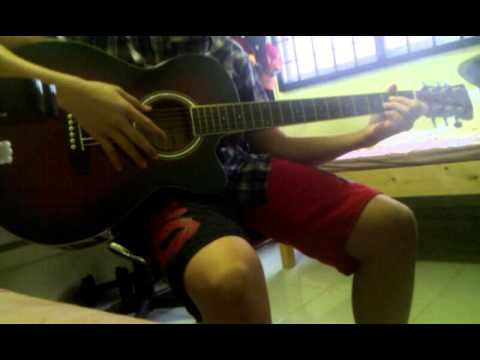 Linkin park-New divide guitar cover(Acoustic)