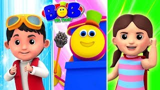Cleaning Superheroes   Bob The Train Shorts   Cartoons Videos For Children by Kids TV