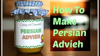 How to Make Persian Advieh Cooking with Toorandokht