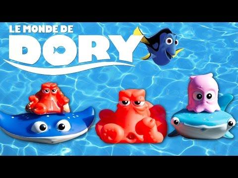 Le Monde de Dory Jouets de Bain Piscine Disney Pixar Finding Dory Pochettes Surprise 4k #Unboxing